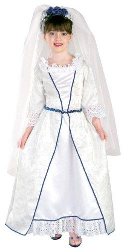 Deluxe Erika Bride Barbie Costume -