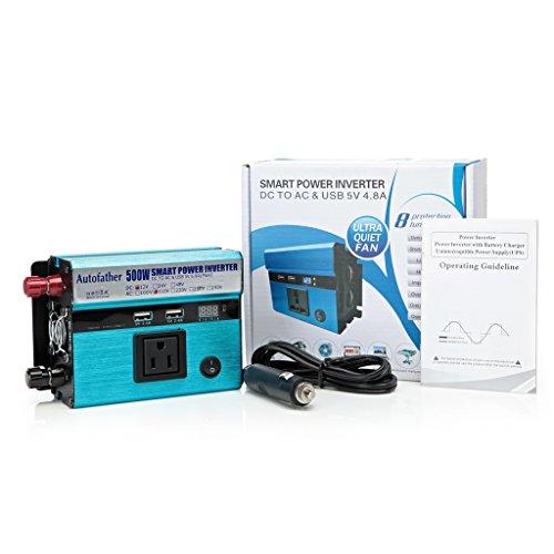 Power Inverter DC 12V to AC 110V 500W