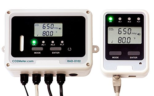 Dual Relay CO2 Storage Safety Alarm by CO2Meter