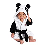 350175be67eb PERSONALIZED Monogrammed Sock Monkey Terry Hooded Bath Robe ...