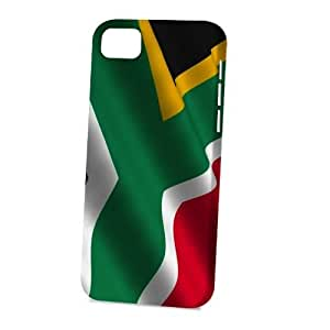 linJUN FENGCase Fun Apple iphone 6 4.7 inch Case - Vogue Version - 3D Full Wrap - Flag of South Africa