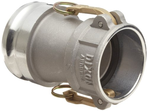 Dixon 3020-DA-AL Aluminum Cam and Groove Reducing Hose Fitting, 3