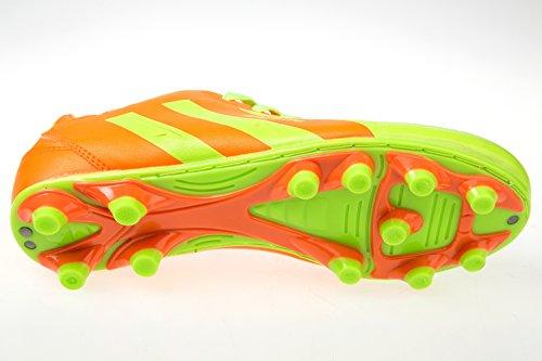 gibra - Botas de fútbol de Material Sintético para hombre Naranja - neonorange/neongelb
