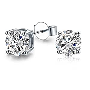 Stud Earrings of IRIS GEMMA Platinum Plated Fashion Women Earrings Set Expertly Made with Crystal from SWAROVSKI