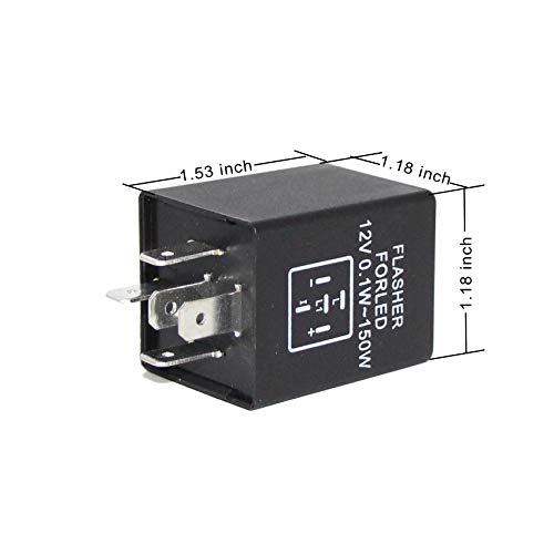 Amazon Alla Lighting 3pin Cf13 Electronic Led Flasher Relay Rhamazon: Subaru Loyale Flasher Location At Gmaili.net