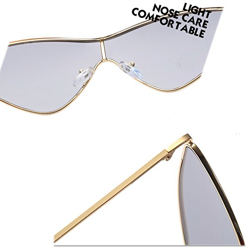 sol gafas Gafas Las UV Deportivas Gafas Conducci¨®n C7 Mujer sol Triangular de Protecci¨®n Moda Gafas Pesca Ciclismo Hombre Eyewear Unisex Protectoras de de vqwP5