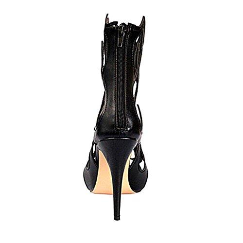 Tamaño Shinik Alto Tacón Estados Europa Zapatos Unidos Para De Black Sandalias Y Moda 2018 Mujer 37 color qxrZ4zq
