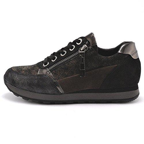 s S para York schw mujer Gabor cordones de nougatk Zapatos HaAHfUz