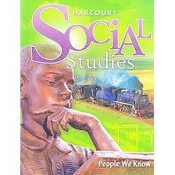 Harcourt Social Studies Tennessee: Student Edition People We Know Grade 2 2009 (Harcourt Social Studies People We Know Grade 2)