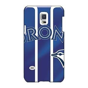 Customcases88 Samsung Galaxy S5 Mini Scratch Protection Phone Cover Custom High Resolution Toronto Blue Jays Image [AMu1740TcPX]