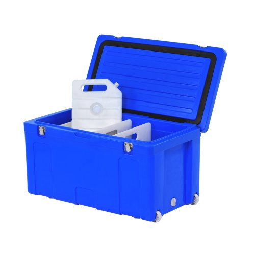 Sandusky MC102L Marine Cooler, 107 qt Capacity, 35'' Width x 20'' Height x 19'' Depth, Blue by Sandusky