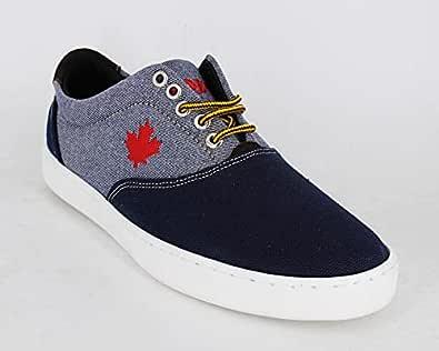 Man Shoes BLUE Gray Trojan