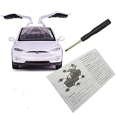HUIFEIDEYU Simulate Alloy Pull Back Car for Kids Toy, Model Vehicle for Boys Girls Adults with Sound and Light Function 1:32 Scale Model X 90 , Ideal White: Toys & Games