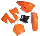 #5: NEWANIME(R) KTM50 KTM SX 50 JUNIOR JR 50CC FENDER PLASTIC - Orange NEW