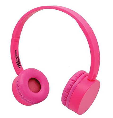 HamiltonBuhl Pink KidzPhonz Headset with In-Line Microphone by Hamilton Buhl
