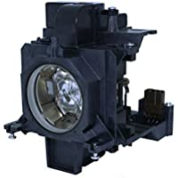 AuraBeam Professional Replacement Projector Lamp for Panasonic ET-SLMP136 With Housing (Powered by Ushio)
