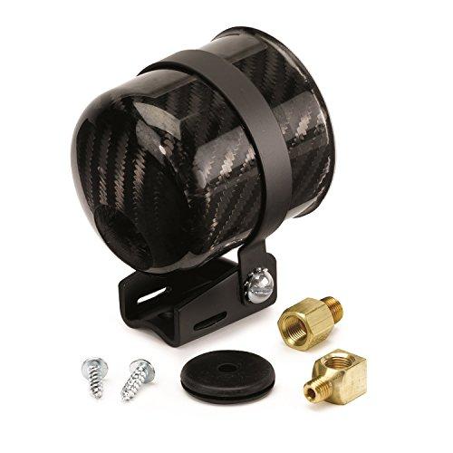 Auto Meter Gauge Mounting Cup - Auto Meter 2152 Carbon Fiber Mechanical Gauge Mounting Cup