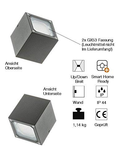 Slv sitra Luminaria cube blanco