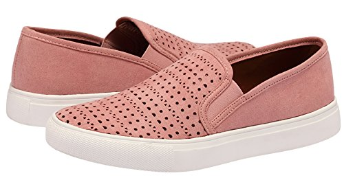Shoes Fashion Sneakers Blush Slip Loafers Casual Sofree on Women's qwUxnCPp