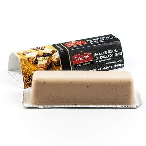 Mousse Royale of Duck Foie Gras with Truffles by Rougie (4.9 ounce) ()