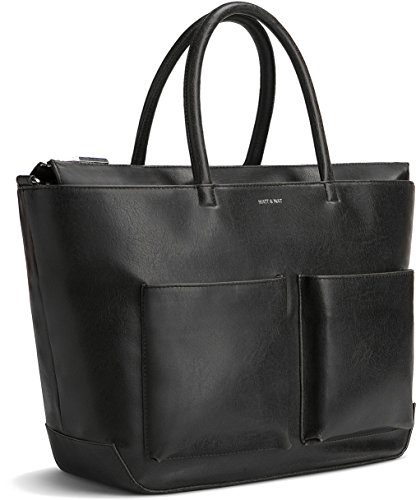 Matt and Nat Raylan Medium Vintage Diaper Bag, Black