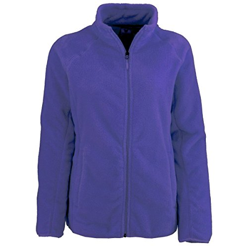 White Sierra Cozy Fleece Jacket Ii - Extended Sizes, Clematis Blue, 3X