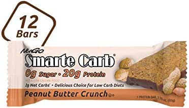 Granola & Protein Bars: NuGo Smarte Carb