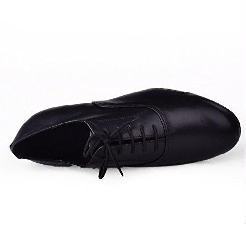 Jig Foo Herren Standard Tanzschuhe, Schwarz - Schwarz - Größe: 46