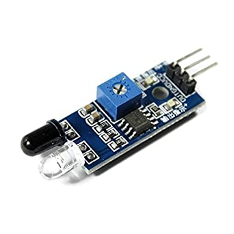 Detector de Obstáculos, Sensor de Aproximación IR para Prevención de Colisiones Ópticas con Salida digital para Arduino, Raspberry Pi, Aplicaciones Line ...
