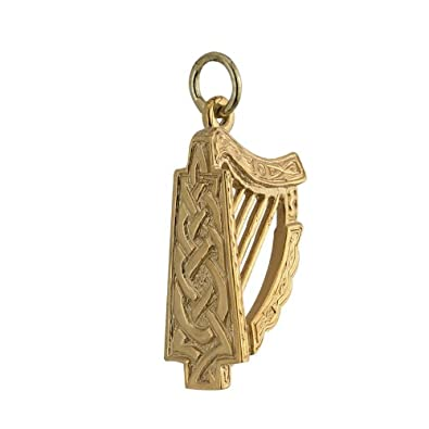 Amazon irish harp pendant large 14k yellow gold pendant only irish harp pendant large 14k yellow gold pendant only aloadofball Gallery