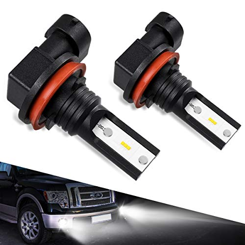 Gmc 2011 Canyon Led (9140/9145/H10 LED Fog Light Bulbs, Marsauto G2s Series Super Bright 9045/9040 LED Foglight IP67 CSP Chips 6000K Xenon White 2-Pack)