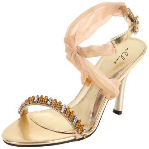 Ellie Shoes Women's 457-Paula, Gold, 6 M US