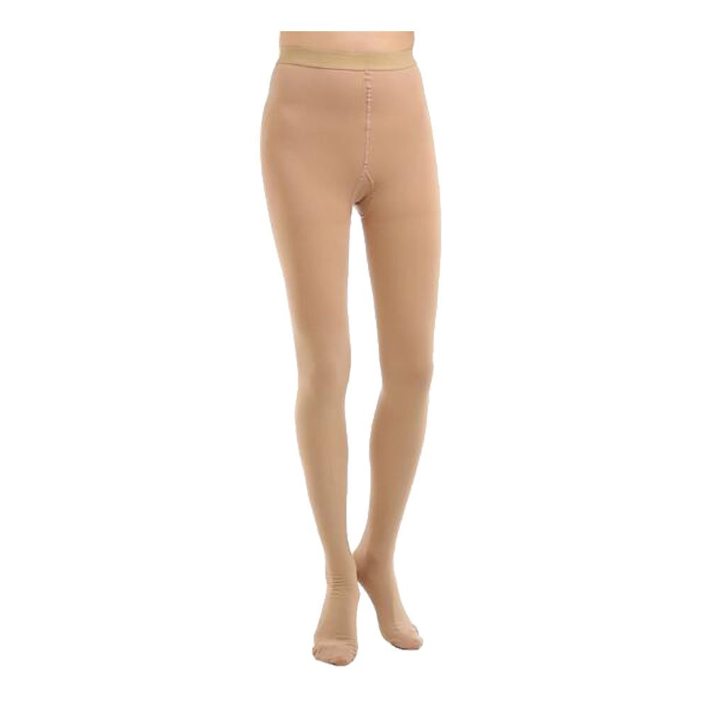 Opaque Medical Compression Stockings Health Firm Support 20-30mmHg Pantyhose Closed Toe Women Leggings Varicose Veins