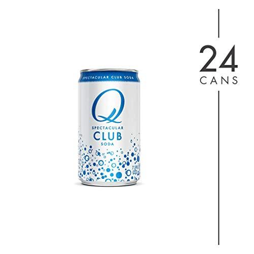 Q Mixers Club Soda, Premium Cocktail Mixer, 7.5 oz (24 Cans)