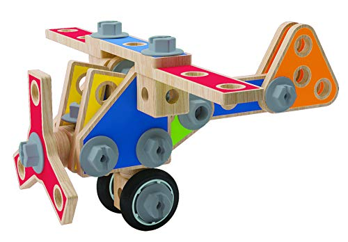 Award Winning Hape Master Builder Wooden Tool Box Set from Hape