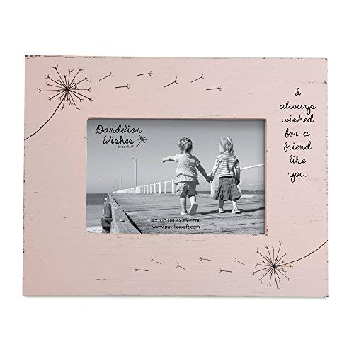 Pavilion Gift Company Friend Like You Pink Rustic 4x6 Picture Frame (Friends Picture Frame 4x6)