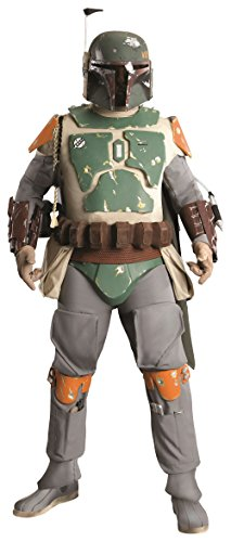 Rubie's Adult Star Wars Supreme Edition Costume, Boba Fett, Standard]()