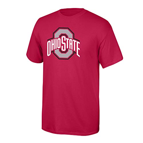 Shirts State Ohio Buckeyes (Elite Fan Shop NCAA Men's Ohio State Buckeyes T Shirt Team Color Icon Ohio State Buckeyes Red Large)
