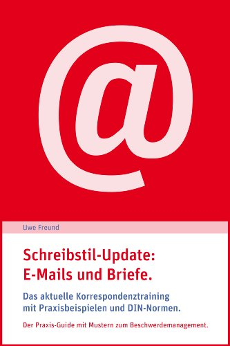 Amazoncom Schreibstil Update E Mails Und Briefe Das
