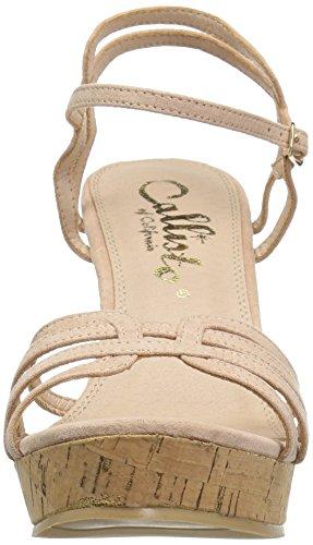 Callisto Wedge Oasis Sandal Blush Women's Suede pwS7O