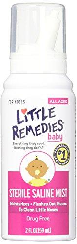 Little Remedies Baby Sterile Saline Mist, 2 Ounce