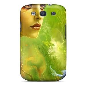 Tpu Mwaerke Shockproof Scratcheproof Carp Sperm Hard Case Cover For Galaxy S3