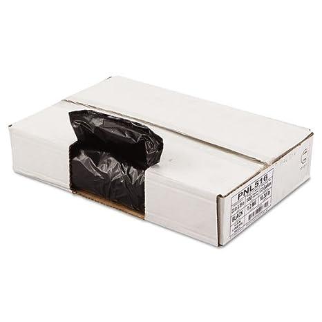 Amazon.com: Bolsas de basura negras de baja densidad Penny ...
