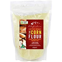 Chef's Choice Organic Fine Grain Corn Flour 500 g