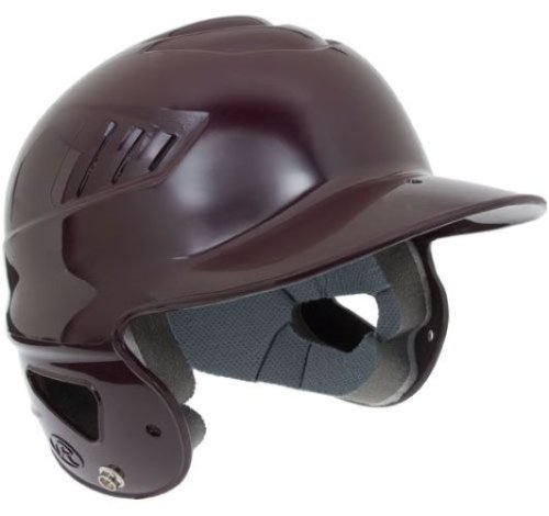 Maroon Baseball Batting Helmet (Rawlings Coolflo Batting Helmet (Maroon ))
