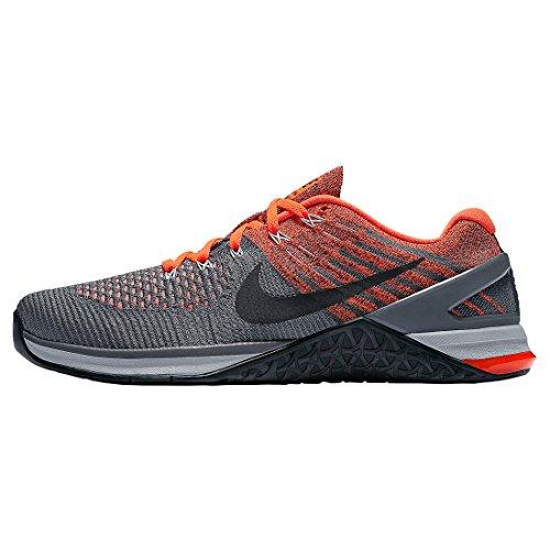 Nike Mens Metcon Dsx Flyknit Scarpa Da Allenamento Grigio Scuro / Grigio Lupo