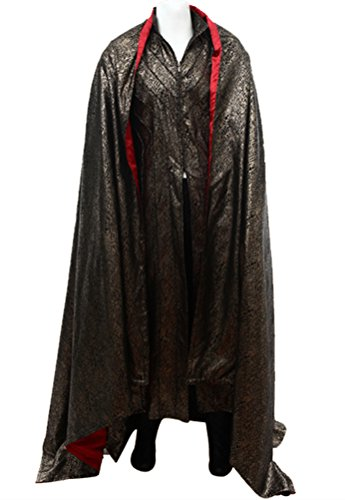 Legolas Costume for Men, Deluxe Halloween Elf Prince Cosplay Party Outfit Full Set with Cloak (Small)