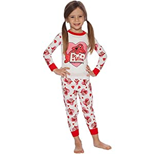 Clifford Girls' Toddler Mine Pajama Set