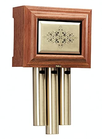 NuTone LA305WL Traditional Wired Musical Door Chime, Walnut ...