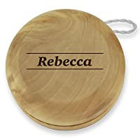 Dimension 9 Rebecca Classic Wood Yoyo with Laser Engraving